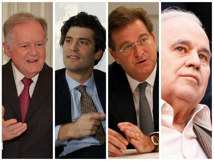 Los hombres más ricos de Colombia.