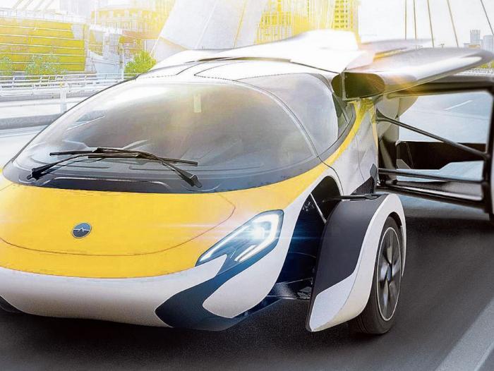 Carros Voladores Llegaran A Estados Unidos En 10 Anos Empresas