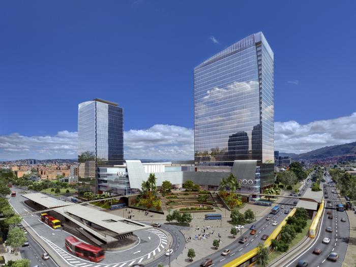 Edificio am rica centro se une a las construcciones - Centro de negocios en alicante ...