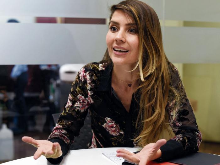 Sandra Milena Ospina D'Alleman, subdirectora de Posicionamiento de la ACI Medellín.