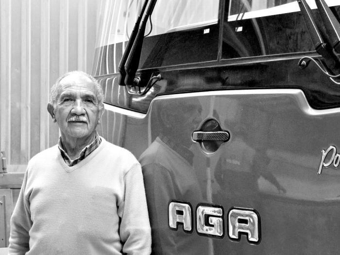 Armando Gutiérrez, fundador de la compañía Autobuses AGA, que inició labores en 1977.