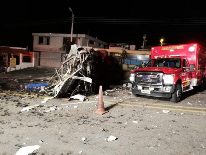 Accidente Quito