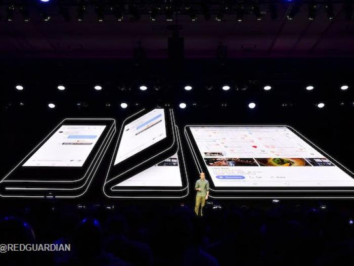 Samsung Infinity Flex Display.