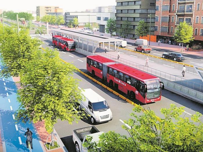 La Red Vial De Transmilenio Creceria 22 4 En Cinco Anos Transmilenio Rutas Infraestructura Economia Portafolio