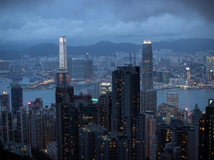 Hong Kong panorámica