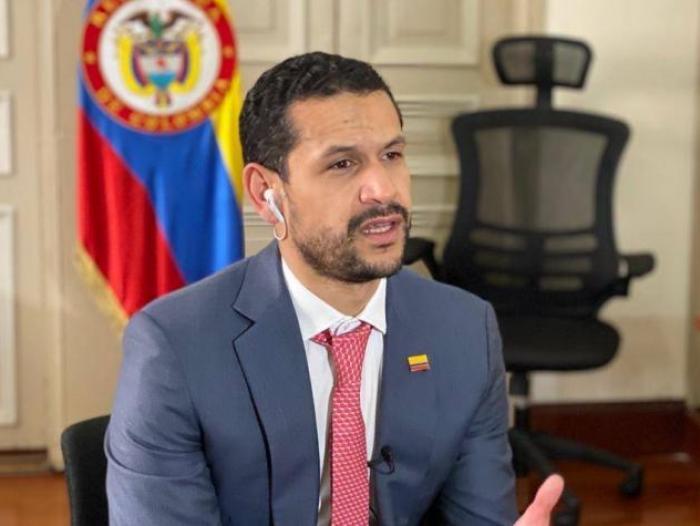 Daniel Palacios Martínez es designado como nuevo ministro del Interior de  Colombia   Gobierno   Economía   Portafolio