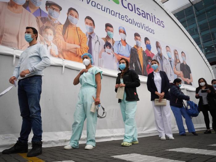 Colombia inicia nueva etapa de vacunación masiva contra la Covid