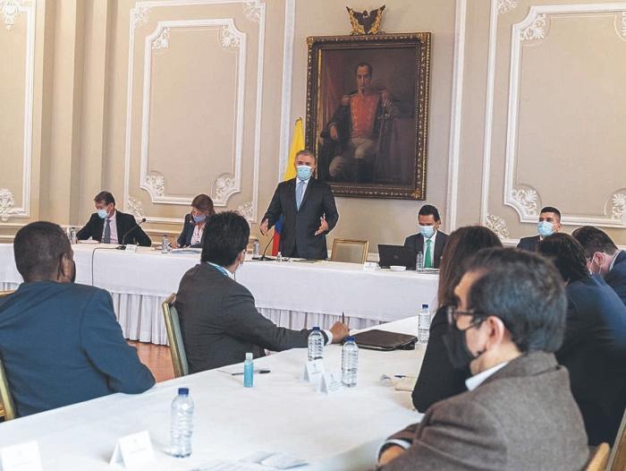 Gobierno de Colombia propone diálogo permanente con el comité nacional de  paro   Gobierno   Economía   Portafolio