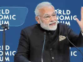 El primer ministro de India, Narendra Modi,