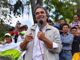 Sergio Fajardo, candidato por la Coalición Colombia