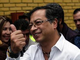 Gustavo Petro, candidato a la presidencia por el movimiento Colombia Humana