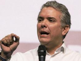 Iván Duque, candidato a la presidencia por el Centro Democrático.