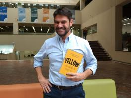 David Gómez, autor del libro Yellow