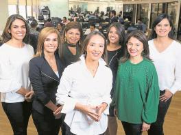 Mujeres del Banco de Bogotá.