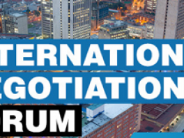 FORO INTERNATIONAL NEGOTIATION FORUM
