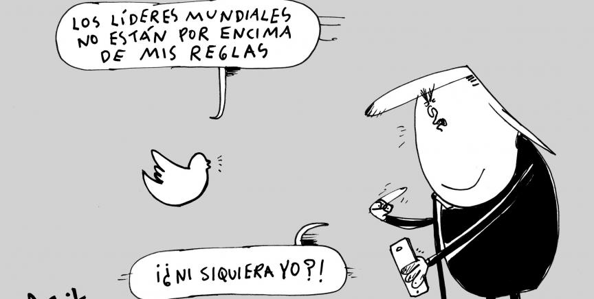 Advertencia de Twitter