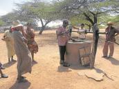 Energía solar para sacar agua en La Guajira