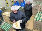 Aspectos de la planta de producción de Danone Alquería.