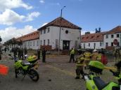Explosión Escuela de Policía
