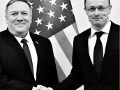 Ministro de Exterior húngaro y el Secretario de Estado de EE. UU.
